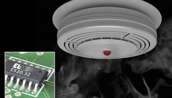 Elmos: Smoke detector IC with bus interface